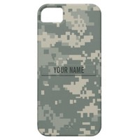 Army ACU Camouflage (Customizable) iPhone 5 Case