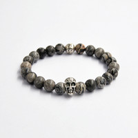 Stylish Gift Awesome Great Deal Shiny New Arrival Hot Sale Handcrafts Skull Bracelet [4970302212]