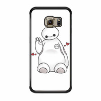 Hello I Love Baymax Samsung Galaxy S6 Edge Case
