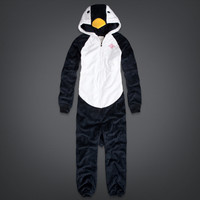 Penguin Cozy Fleece Onesuit
