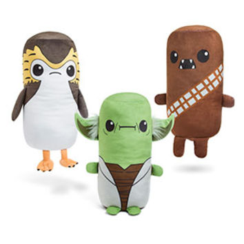Star Wars Cutesy Roll Plush