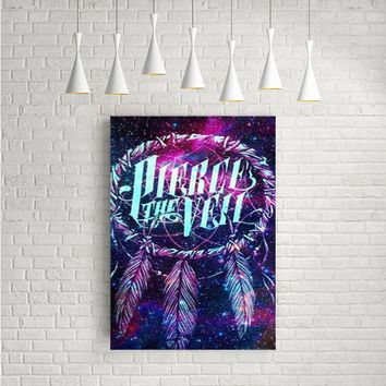 DREAM CATCHER PIERCE THE VEIL NEBULA GALAXY ARTWORK POSTERS