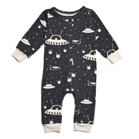 Outer Space  - Organic Terry Jumpsuit