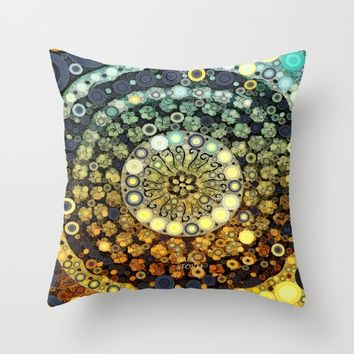 :: Kitchen Dance ::  (...and those who were seen dancing, were thought to be insane)  Throw Pillow by :: GaleStorm Artworks ::