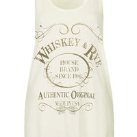 Whiskey And Rye Vest By Project Social T - New In This Week  - New In
