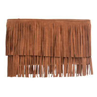 MR. Mr Davies Fringed Clutch