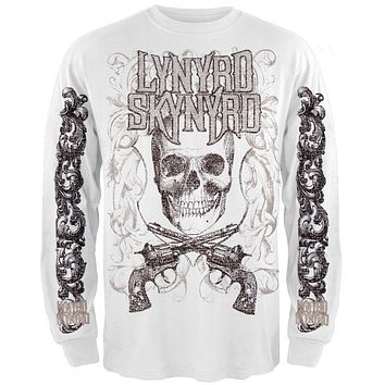 Lynyrd Skynyrd - Skull Guns Long Sleeve T-Shirt