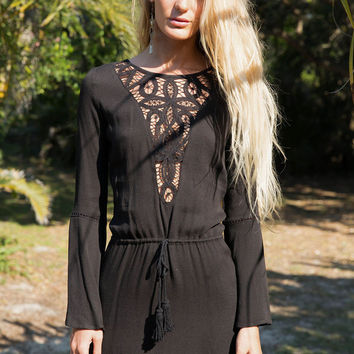 Wanderlust Dress Black - Arnhem Clothing