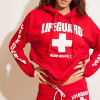 Lifeguard Pullover hoodie Unisex - Beach Lifeguard