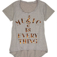 Music Is Everything Tee