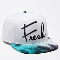 Neff Forever Fresh Snapback Hat - Mens Backpack - White - One