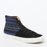 Vans Cali Collection Italian Weave SK8 Hi Decon Shoes - Mens Shoes - Blue - 11