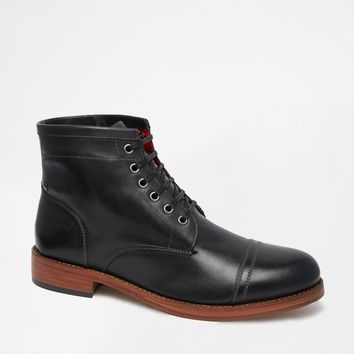 Base London Bristol Toe Cap Boots