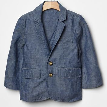 Gap Baby Chambray Blazer