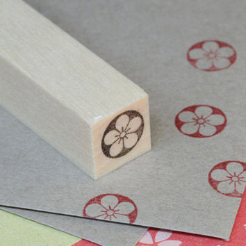 Japanese Rubber Stamp for Filofax,PostCard,Kawaii tiny stamp for planner,calendar, scheduler diary and for designers,cool japan ,Umemaru