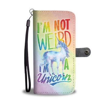 I´m A Unicorn Wallet Phone Case w/ RFID Blocker