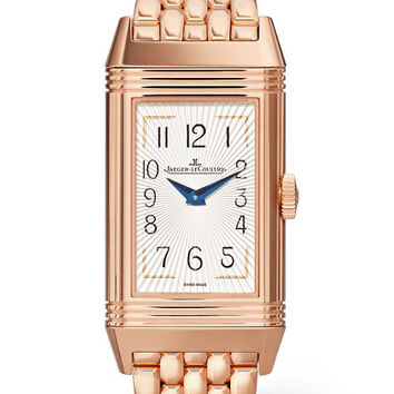 Jaeger-LeCoultre - Reverso One Duetto Moon 20mm rose gold and diamond watch