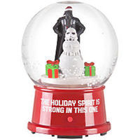 4.5 in. Snow Globe - Star Wars Christmas Scene