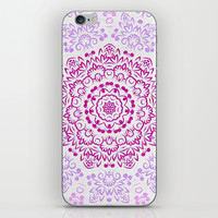 A Glittering Colorful Mandala 2 iPhone & iPod Skin by Octavia Soldani | Society6