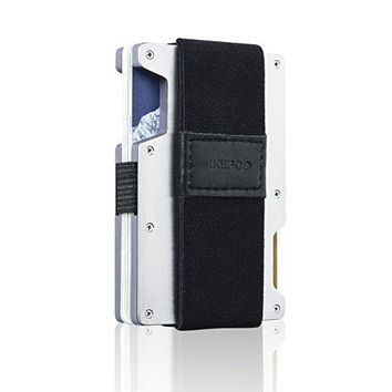 17Minimal Gear Slim Wallet _  Pure - Stainless Steel and Ac Resin