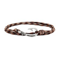 Brown Camo Fish Hook Bracelet