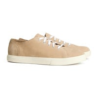 H&M - Suede Sneakers - Beige - Men