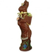 "Milk Chocolate Easter Bunny - 26"" - ""E-48"""