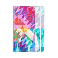 "Miranda Mol ""Triangle Feast"" Abstract Geometric Everything Notebook"