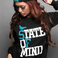 Adapt The State of Mind Crewneck : Karmaloop.com - Global Concrete Culture