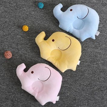 Urijk Small Elephant Style Baby Stereotypes Pillow Sleep For Children  Toddler Pillow Cushion New Baby Shaping Soft Head