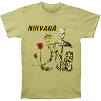 Nirvana Men's  Incesticide Slim Fit T-shirt Celery