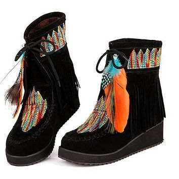 #1 Indian Style Retro Boots