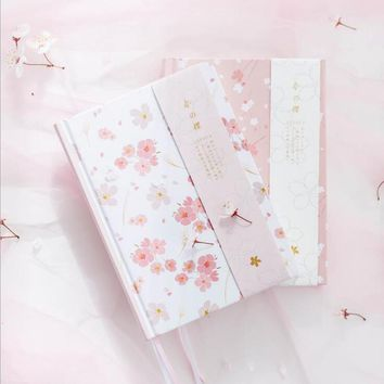 2018 Monthly Plan Bullet Journals Cherry Blossom