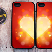 2 Beautiful Heart Cases for iPhone 5 / 5s case
