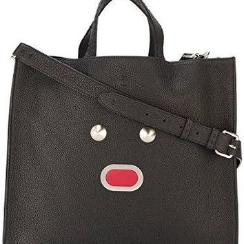 Fendi Men's 7VA3909QHF0GXN-MCF Black Leather Tote