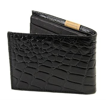 Handcrafted Leather Wallet - Black