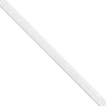 Sterling Silver 7mm Magic Herringbone Chain Necklace