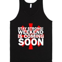 Is Coming Soon-Unisex Black Tank