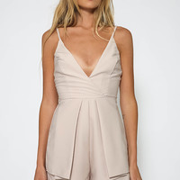 Wattle Grove Playsuit - Beige