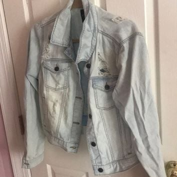 Forever 21 Plus Size Jean Jacket