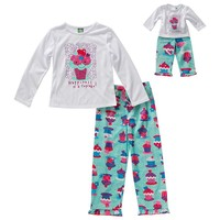 Dollie & Me ''Happiness Is A Cupcake'' Pajama Set - Girls