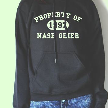 NASH GRIER HOODIE #NASHGRIER #ASKNASH PROPERTY OF NASH GRIER ASK NASH NASHTY VINE COMPILATIONS COOL SHIRTS CELEBRITY SHIRTS