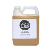 Zum Lab Rosemary-Mint Aromatherapy Laundry Soap