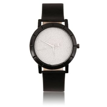 Star Minimalist Fashion Watches For Lovers Leather Strap Watch