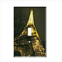 Light Switch Cover - Light Switch Plate Paris France Eiffel Tower