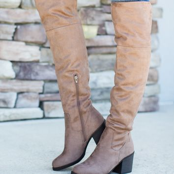 Look Around Boot - Taupe