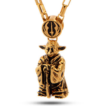 Han Cholo Officially Licensed Yoda Necklace