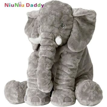 ICIKU7Q Elephant Pillow Elephant Plush Toys Cute Dolls Soft Pillows Baby Sleeping Plush Pillow doll birthday Gift