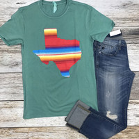 State of Texas Serape Tee