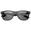 Hipster Street Wear Soft Rubber Matte Black Horned Rim Sunglasses 8350